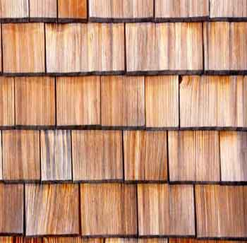 Pitched roof coverings 1: Wood shingle, slate & clay tile