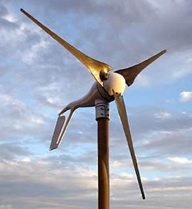 Small wind turbines, 1 - 6 kW