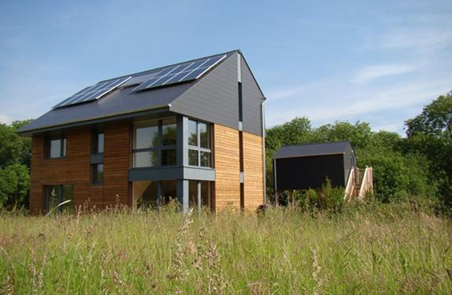 Passivhaus at Howe Park Wood, Milton Keynes by Eco Design Consultants