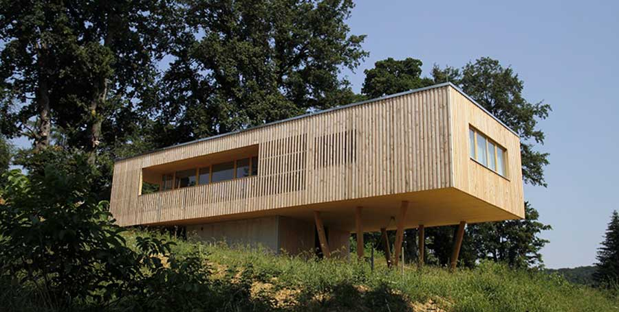 House under the Oaks, Austria – Juri Troy Architects