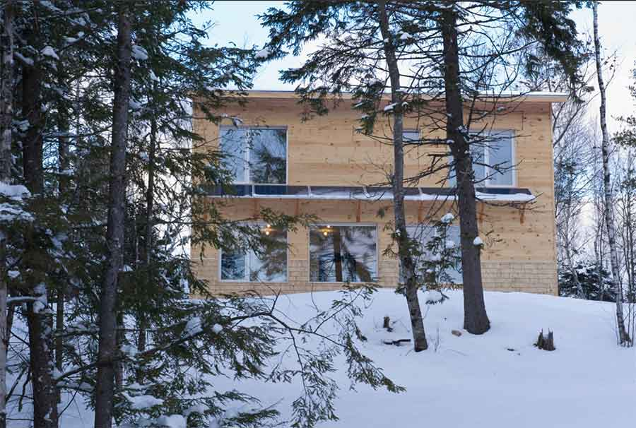 Knox House, Ecocor – Passive House in Maine