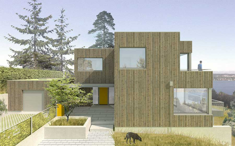 Madrona Passive House, Seattle - SHED architects
