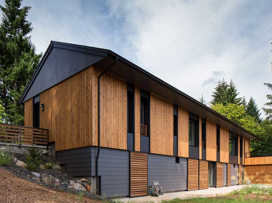 Pumpkin Ridge passive house - Scott Edwards architecture