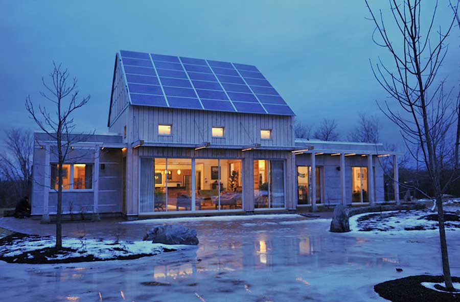 Terrahaus passive house, US - by GO Logic