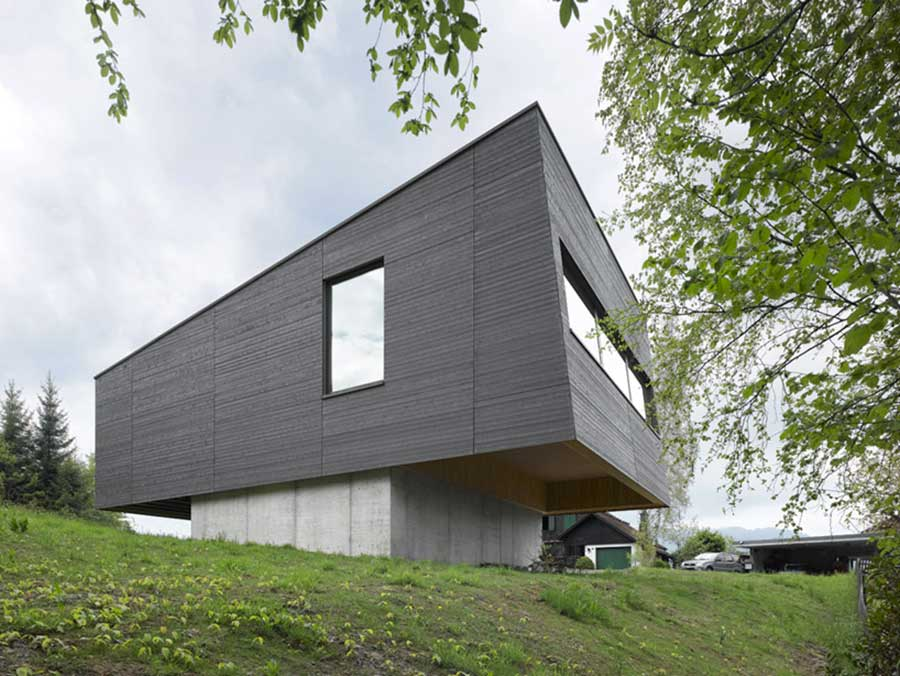 passivhaus vogel in mostelberg, Switzerland – by diethelm & spillmann Architects