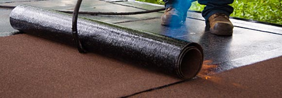 Bituminous Roof Flat Roof Bituminous Felt Sealing Flat