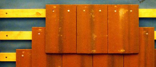 Tile Hanging External Walls Solid Porosity Terracotta