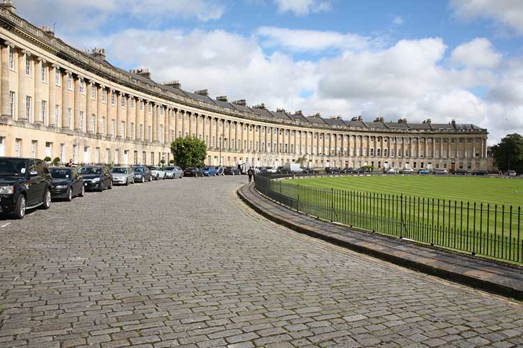 Buildings like the Royal Crescent in Bath provide a sense of place